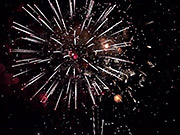 Watch free video Fireworks Slow Motion
