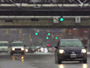 Watch free video Winter Traffic in Slow Motion