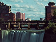 Watch free video Incredible High Falls Time Lapse + Long Exposure