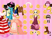 Jeans or Gown Dressup game
