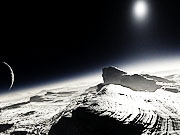 Watch free video Artist's concept of the surface of Pluto