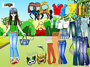 Forest Dress Up game