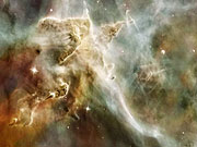 Watch free video Zooming and panning on the Carina Nebula