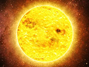 Watch free video An extrasolar planet orbiting a star