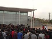 Watch free video Technology Center Flag Raising Ceremony