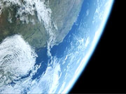 Watch free video Earth rotating, South America