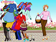 Dressup Girl Summer 2008 Collections game