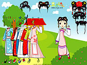Chinese Princess Dressup game