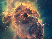 Watch free video Zoom out of Carina Nebula