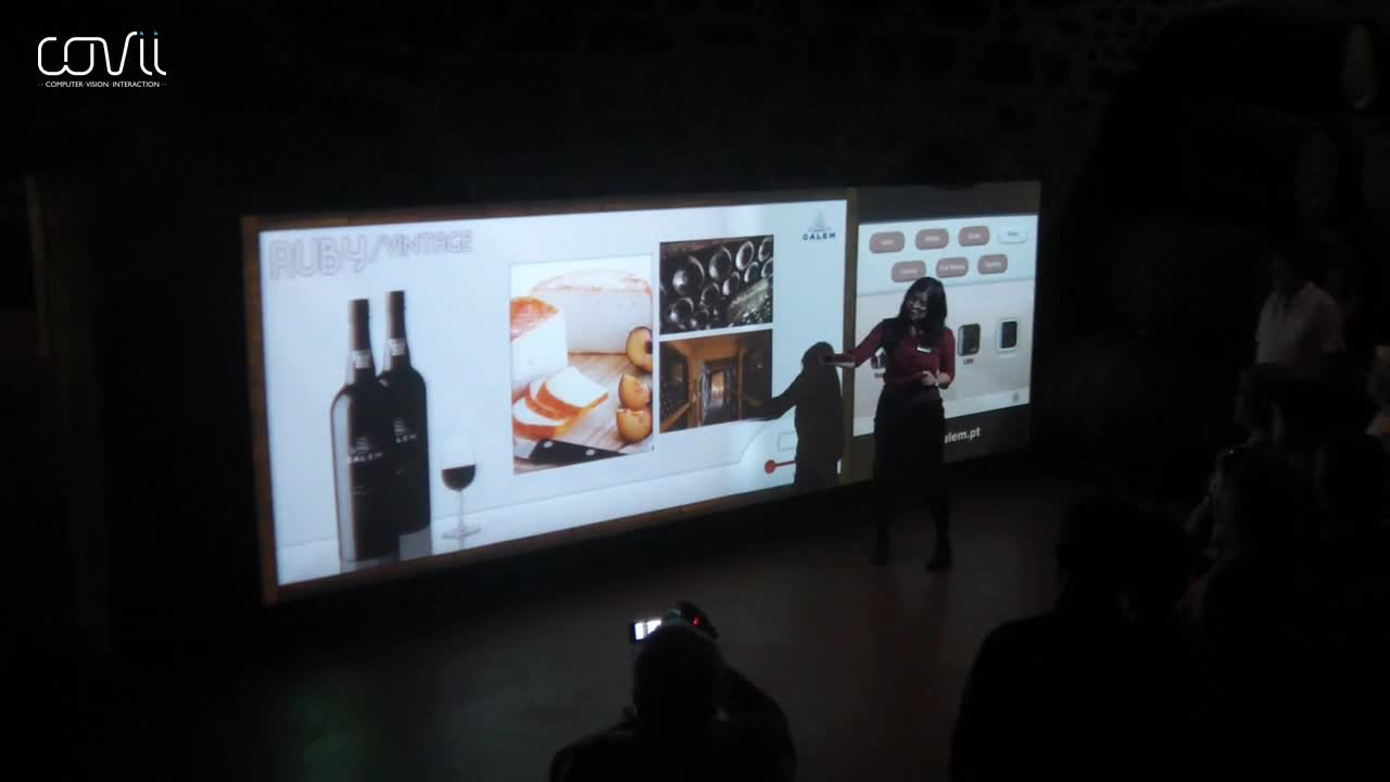 Watch free video Projection Interactive Panel w/ Gesture Interface