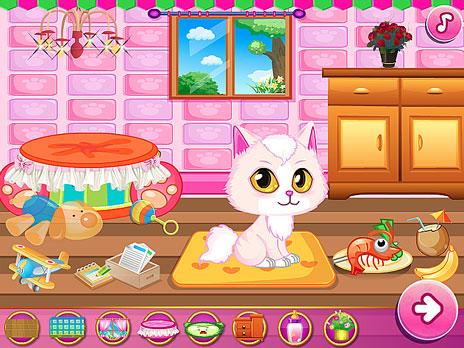 Play cat room design game online y8 com for Decor y8