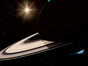 Watch free video Animation of the Sun passing behind Saturn