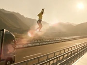 Watch free video Volvo Trucks Commercial: The Ballerina Stunt