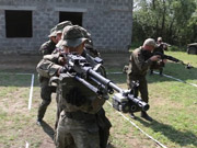 Watch free video Multinational Brigade Forms Up