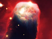 Watch free video The Cone Nebula in 3D