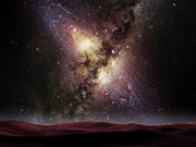Watch free video Milky Way Collision with the Andromeda Galaxy