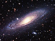 Watch free video Zoom on the Andromeda Galaxy