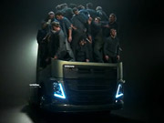 Watch free video Volvo: How Many Truckers Can You Fit in a Truck?