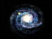Watch free video A black hole streaking through the Milky Way