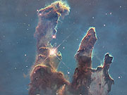 Watch free video 3D exploration of Pillars of Creation