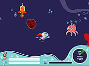 Atomic Betty and the Space Invaders game