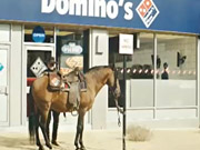 Mira dibujos animados gratis Domino's Commercial: Delivering the Movies