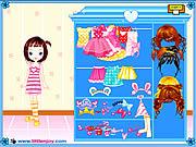 無料ゲームのLittle Doll Girl Dressupをプレイ