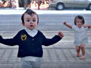 شاهد كارتون مجانا Evian Video: Baby & Me