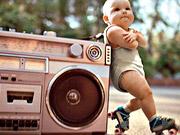شاهد كارتون مجانا Evian Video: Roller Babies