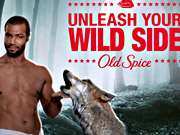 Watch free video Old Spice Commercial: Wolf Rodeo