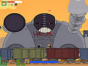 Pico Blast - Trouble in the Train-Yard game