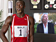 Watch free video Virgin Commercial: Usain Bolt is Richard Branson