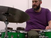 Drums + Skipping CD player (Rhythm Wish)