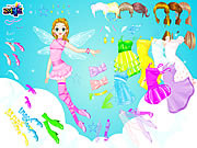 Fairy Naida Dressup game