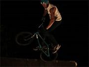 Watch free video Bike Tricks at Night
