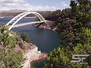 Watch free video View from the trees to Cart Creek Bridge