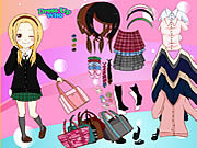 School Is Fun Dress Up لعبة