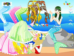 Play Mermaid 2 Dress Up game online - Y8.COM