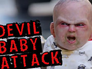 شاهد كارتون مجانا Thinkmodo Video: Devil Baby Attack