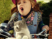Watch free video Three Commercial: Sing It Kitty