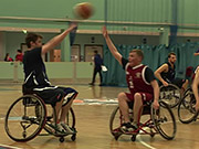 Mira dibujos animados gratis University Competition in Wheelchair Basketball