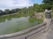 Watch free video Large Pond Romantic Place at Hikone Castle