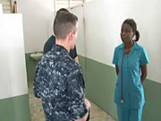 Watch free video Commander Carrier Strike Group 1 Visits Haiti
