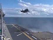 Watch free video F-35B Lightning Makes Vertical Landing at Sea