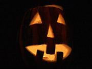 Watch free video Scary Halloween Pumpkin
