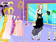 Chic Gown Dress Up game