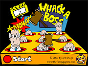 Whack a Boss game