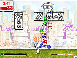 Rap Attack game