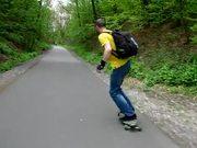 Watch free video Longboarding Panorama Bikeway