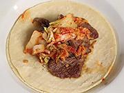 Watch free video Korean BBQ Beef Taco Recipe